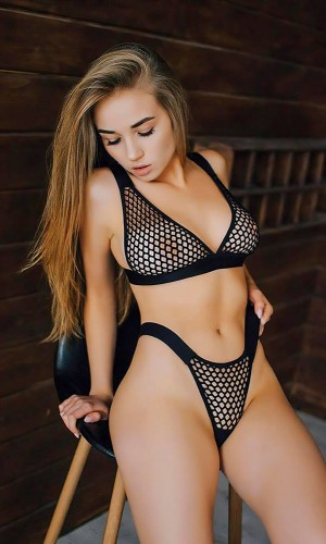Leyna Siyah Seksi Sütyen Külot Takım TM3285