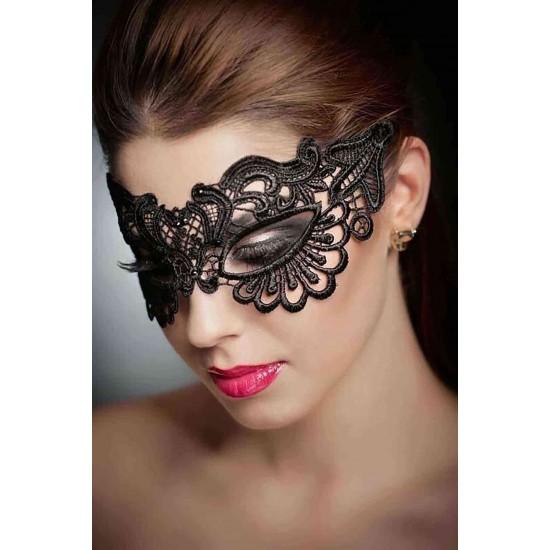 Leyna Siyah Dantelli Göz Maskesi TM0365