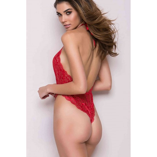 Merry See Kırmızı Fantazi İç Giyim MS3125