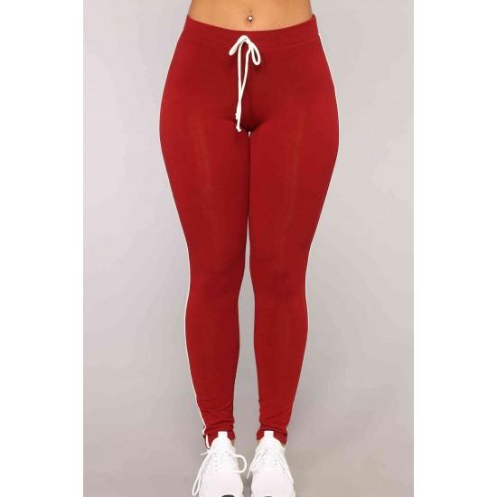 Merry See Penye Eşofman Pijama Takım Kırmızı MS4049-Kırmızı