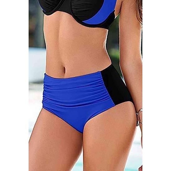 Angelsin Mavi Siyah Bikini Alt MS418986
