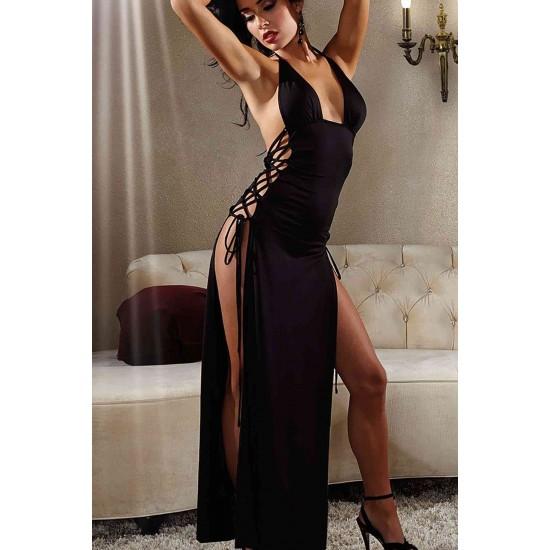 Merry See Uzun Fantazi Gece Elbisesi MS6108