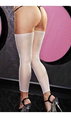 Merry See Beyaz File Kısa Çorap MS7522-1