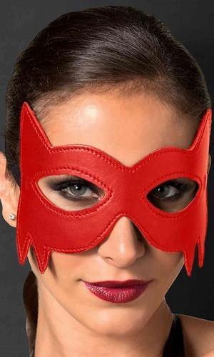 Merry See Kırmızı Deri Göz Maskesi MS8051