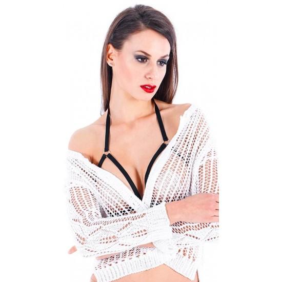 Leyna Siyah Seksi Bralet Sütyen Aksesuarı TM9007